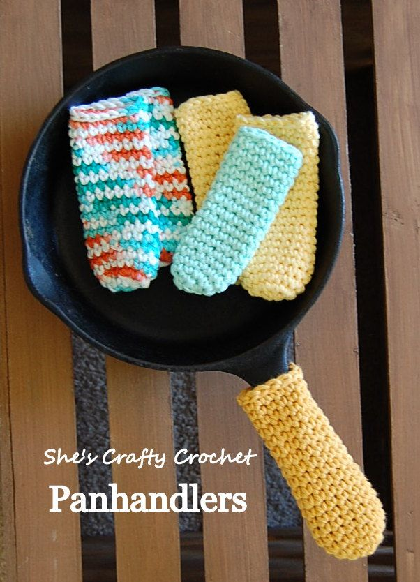 Don\'t burn those digits! - Panhandlers - free crochet pattern by ...