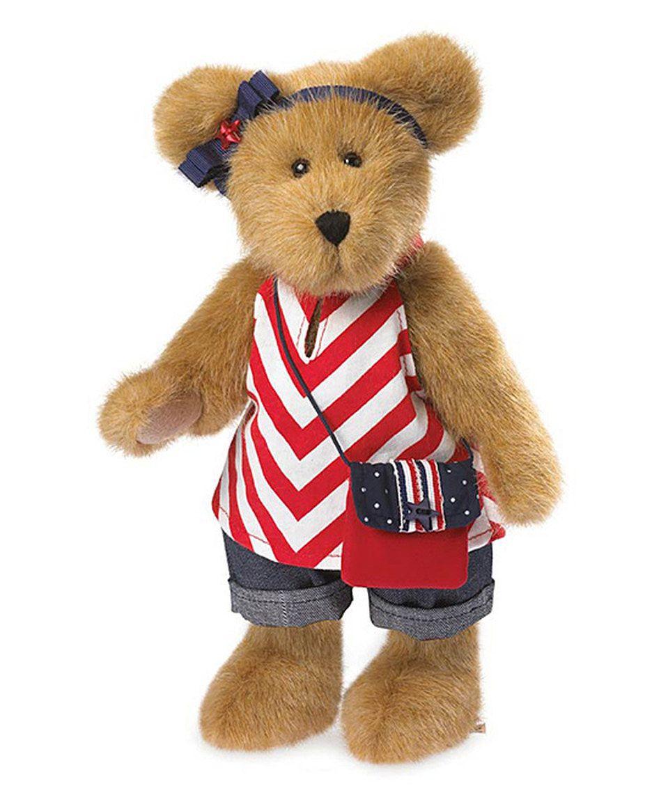 Americana Plush Bear by Boyds zulily zulilyfinds Teddy