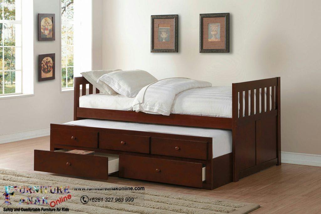 Tempat Tidur Sorong Laci Tempat Tidur Laci Tempat Tidur Anak