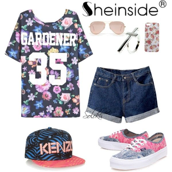 """Sheinside"" by lilichko on Polyvore"