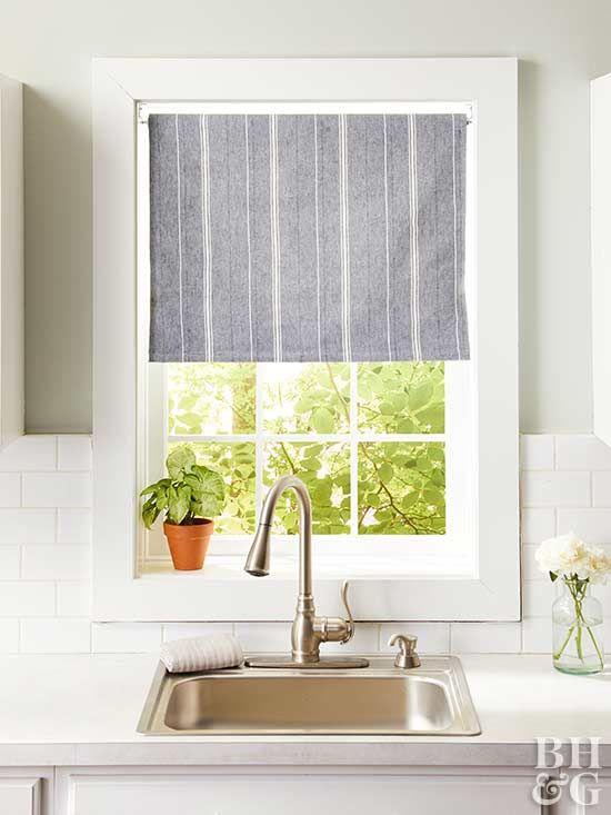 14 Diy Kitchen Window Treatments Diy Window Treatments Kitchen
