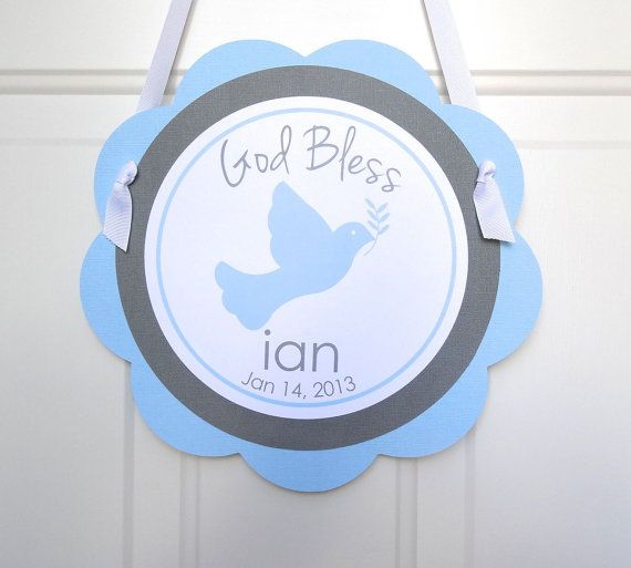 Hey, I found this really awesome Etsy listing at https://www.etsy.com/listing/150875147/christening-welcome-sign-baptism