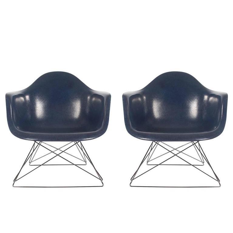 Mid Century Modern Charles Eames Herman Miller Fiberglass