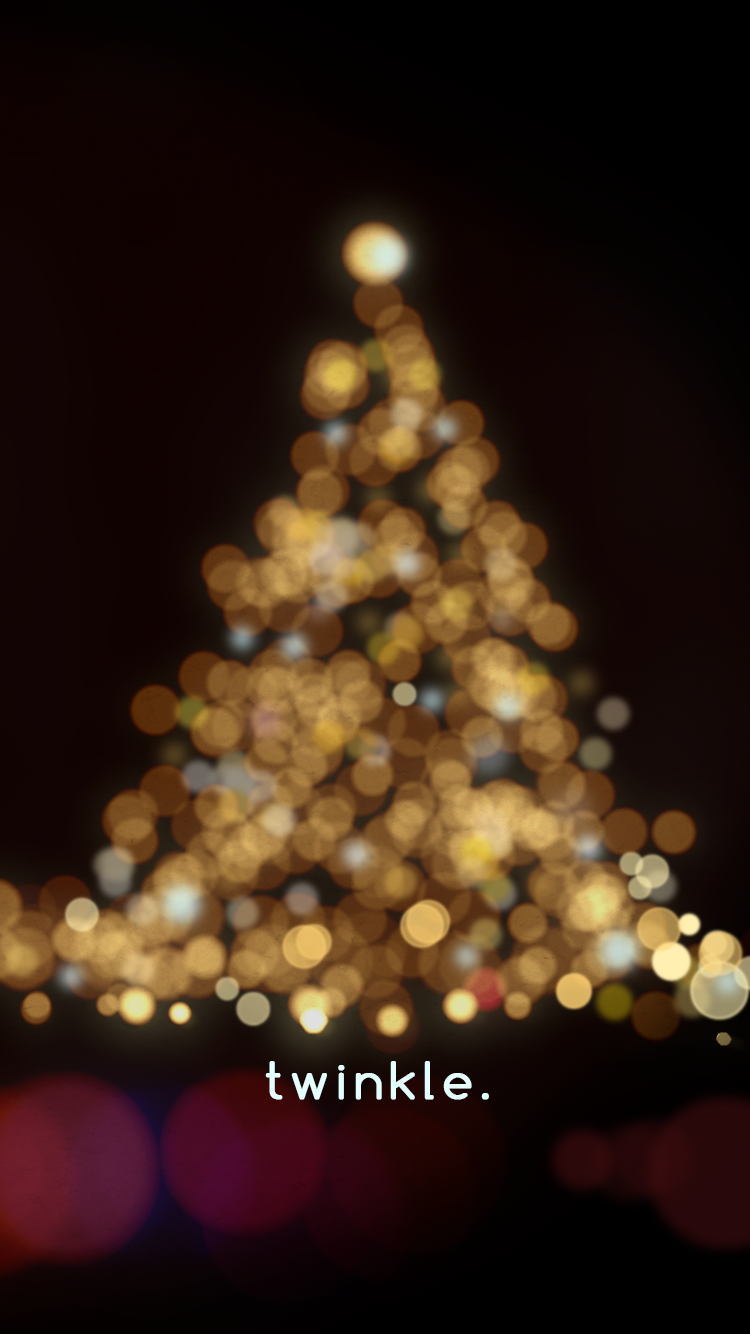 Holiday Lights Bokeh free iPhone wallpapers Wallpaper