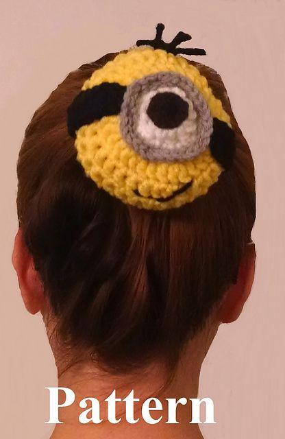 Minion Bun Sock pattern by Lulu Bebeblu | Moños para el pelo, El ...