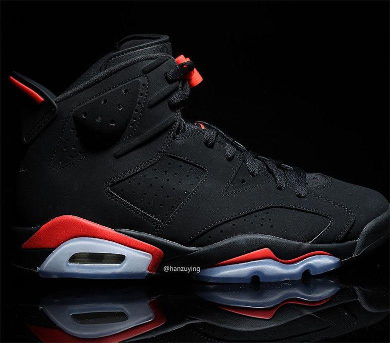 Jordan 6 Infrared 384664 060 2019 Release Info Sneakernews Com Air Jordans Nike Air Jordan 6 Sneakers Men Fashion