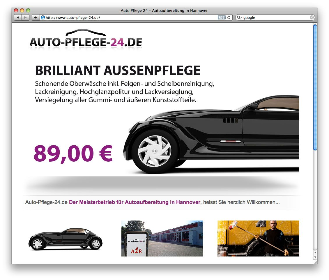 Webdesign auto-pflege-24.de http://www.fiebak-medien.de/211-auto-pflege-24-de-einmal-alles-bitte