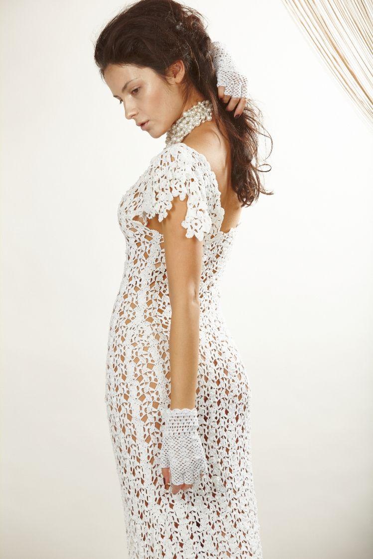 Gallery Vechernie I Svadebnye Platya Crochet Wedding Dresses Crochet Dress Dresses [ 1123 x 749 Pixel ]