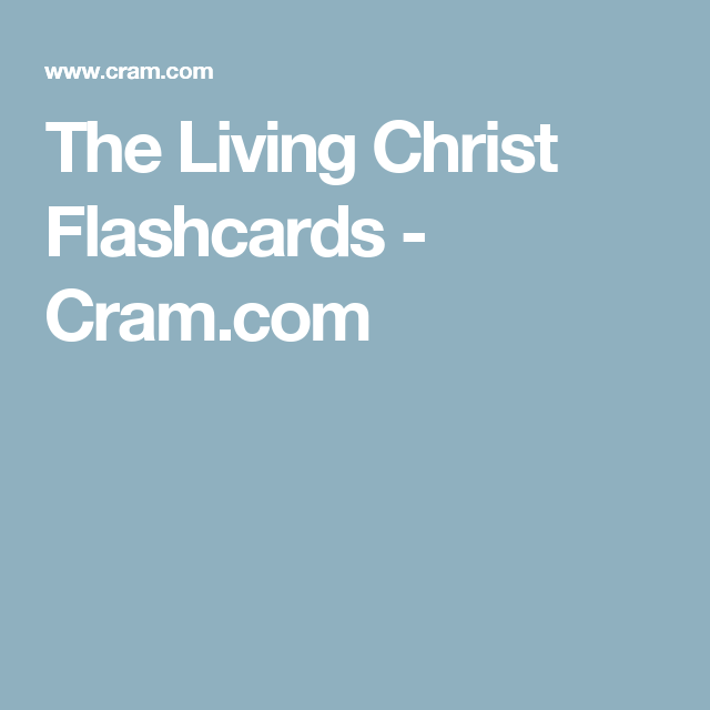 How To Memorize Things, Flashcards
