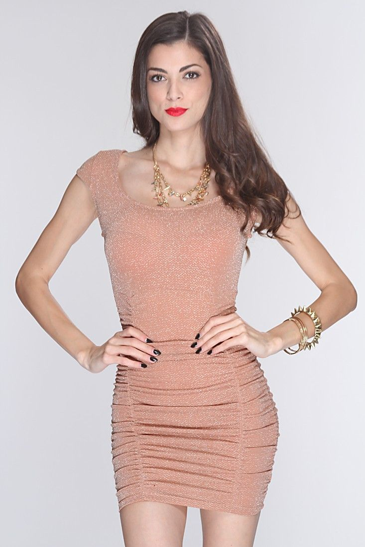 This attention grabber dress is a must youll be running the run
