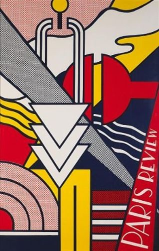 Paris Review Poster by Roy Lichtenstein | Art and illustration ...