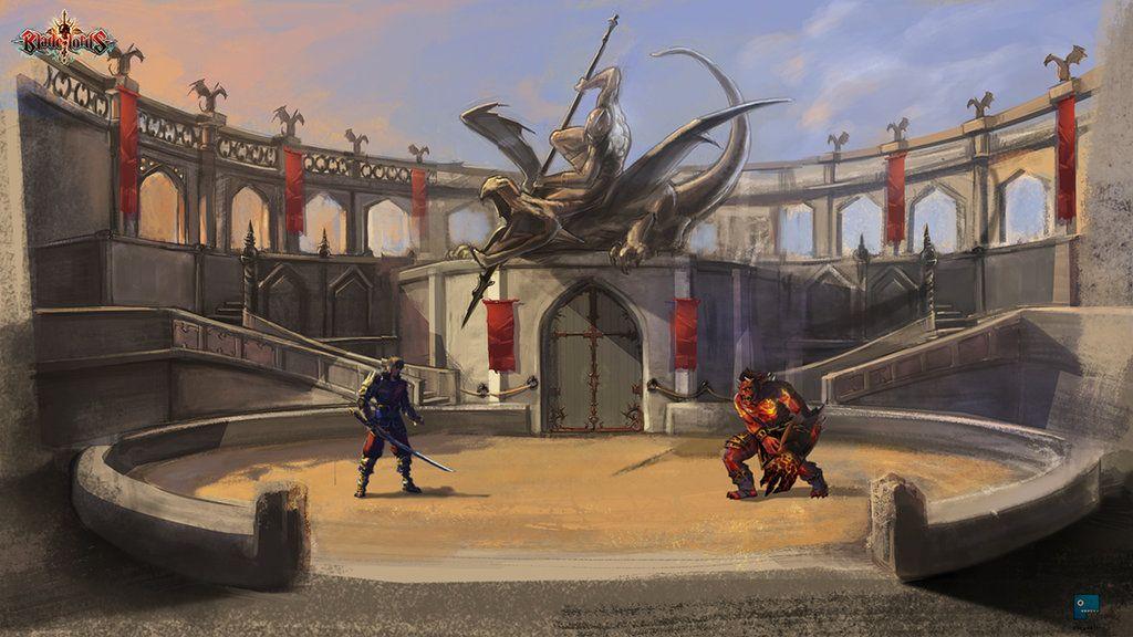 Pin On Arena Gladiator