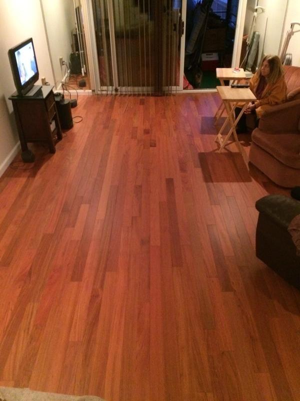 Bellawood Matte Brazilian Cherry flooring  Lumber