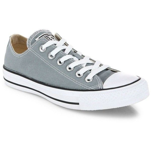 Converse Women's Unisex Chuck Taylor All-Star Canvas Low-Top Sneakers  (1,030 MXN) ❤ liked on Polyvore featuring shoes, sneakers, converse, camo  green, ...