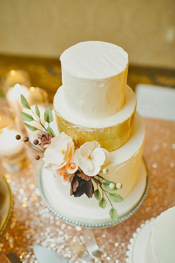 33 Simple Romantic Wedding Cakes | Can\'t have my cake and eat it too ...