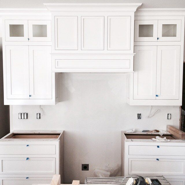White Kitchen Cabinets To Ceiling: 9 Foot Ceilings Are My Favorite Proportion