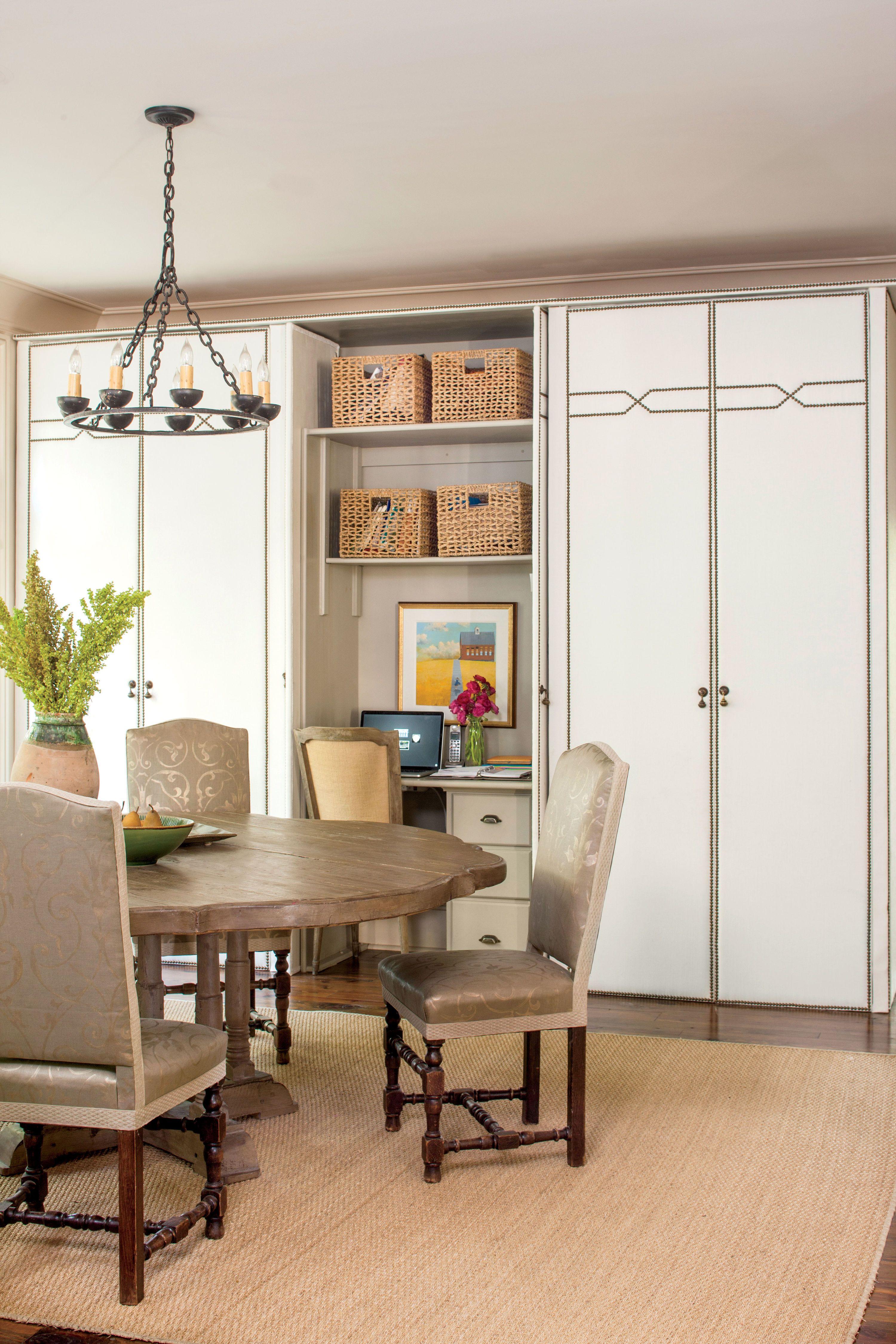 Dining Room Closet Ideas Neutral Breakfast Room With Storage  Kitchen Ideas  Pinterest