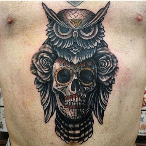 15 Mysterious Owl Tattoo Designs Meanings: 20 Owl Tattoos Representing Mystery