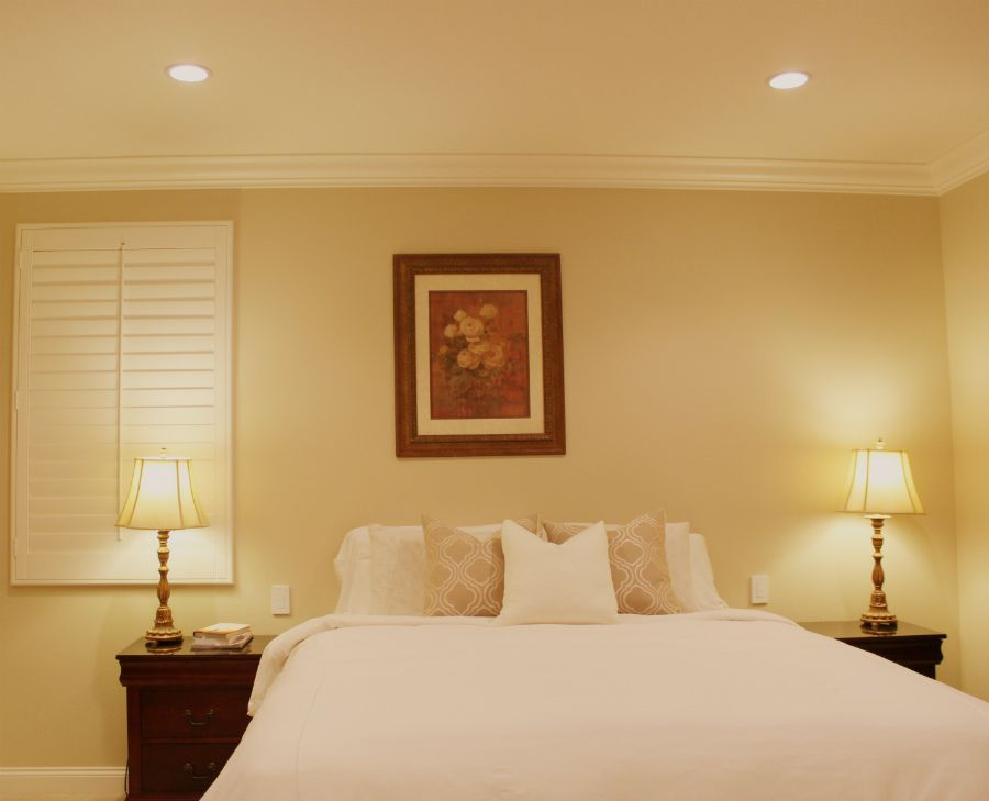 Wireless Dimmers Next To Bed Master Bedroom Led Recessed