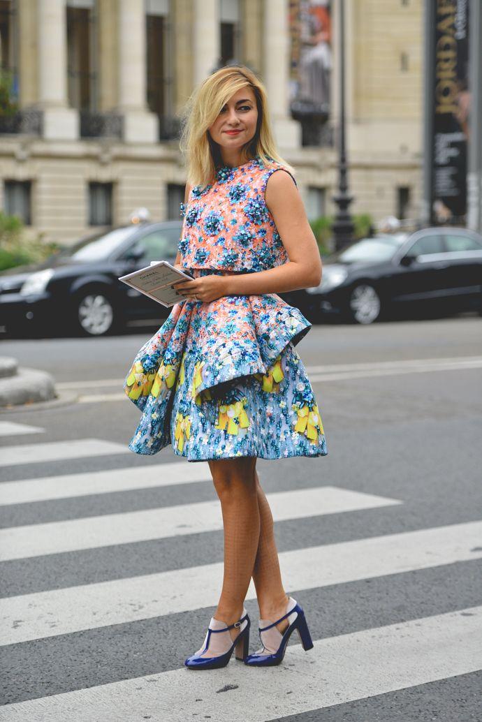 Nasiba that dress is brilliant. Paris. #NasibaAdilova