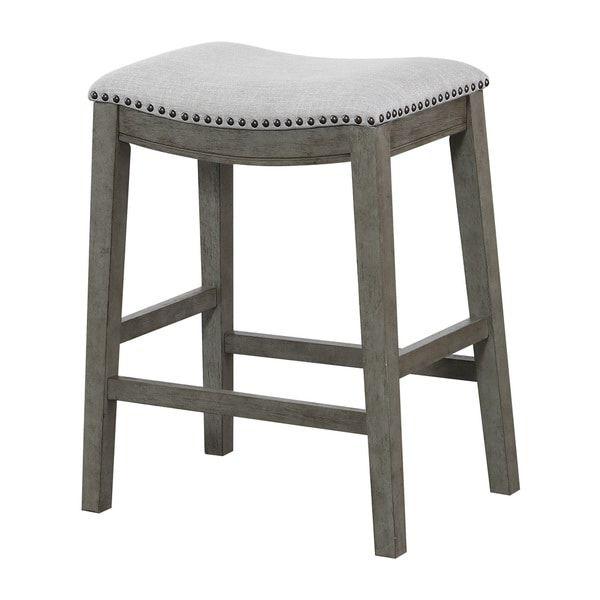 2pk 24 Trenton Counter Stool Dark Gray Wash Threshold Bar Stools Counter Stools Stool