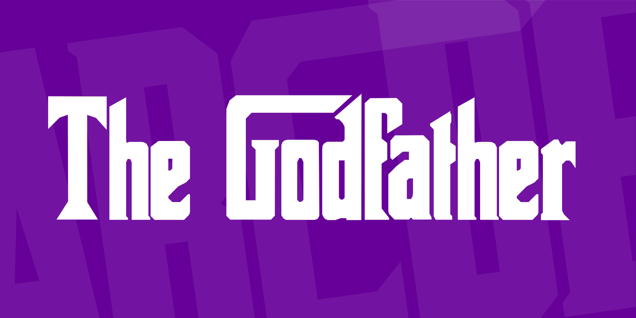The Godfather Font 1001 Fonts The Godfather Free Commercial Fonts 1001 Fonts