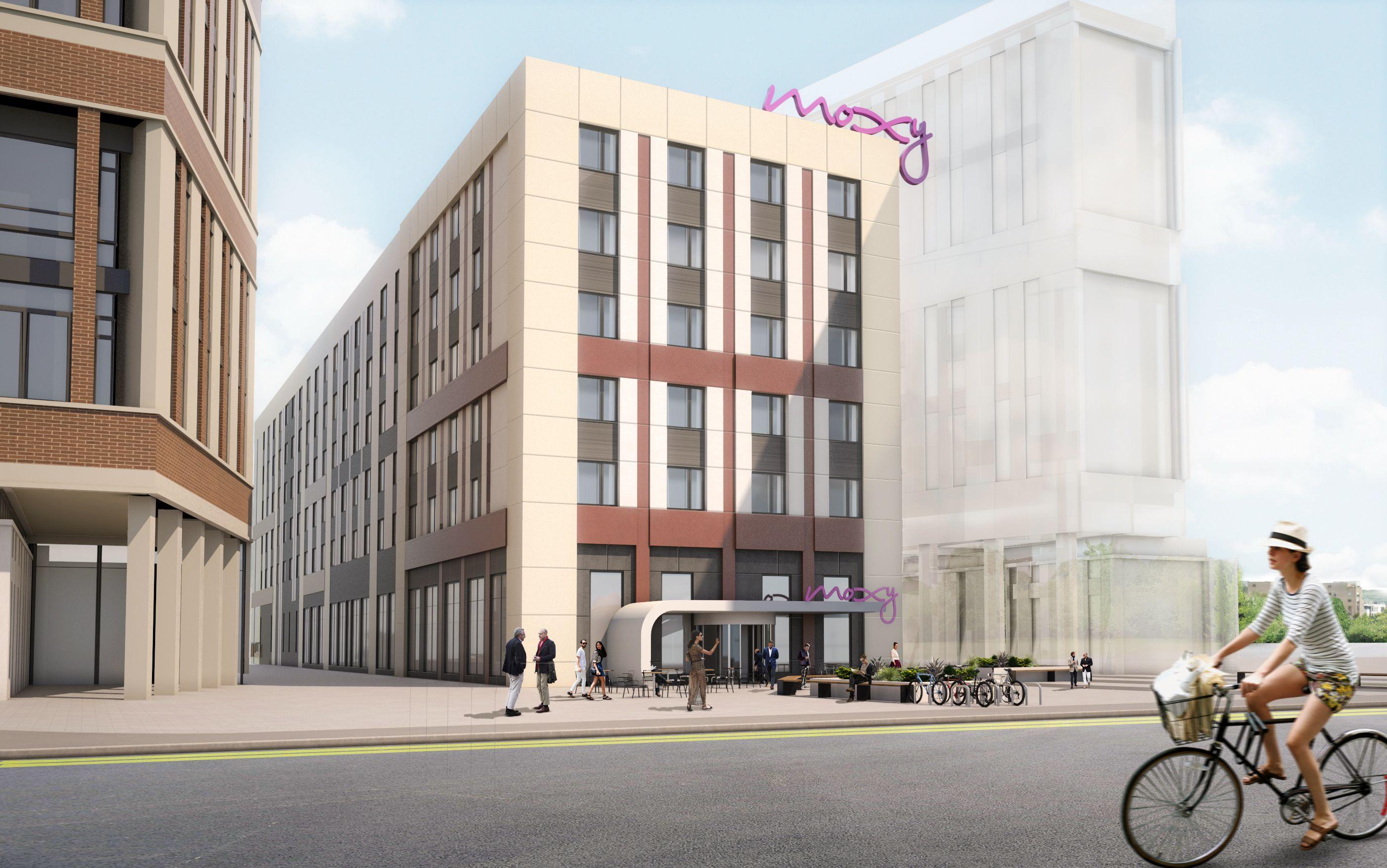 Q2 Moxy Glasgow Merchant City Scotland