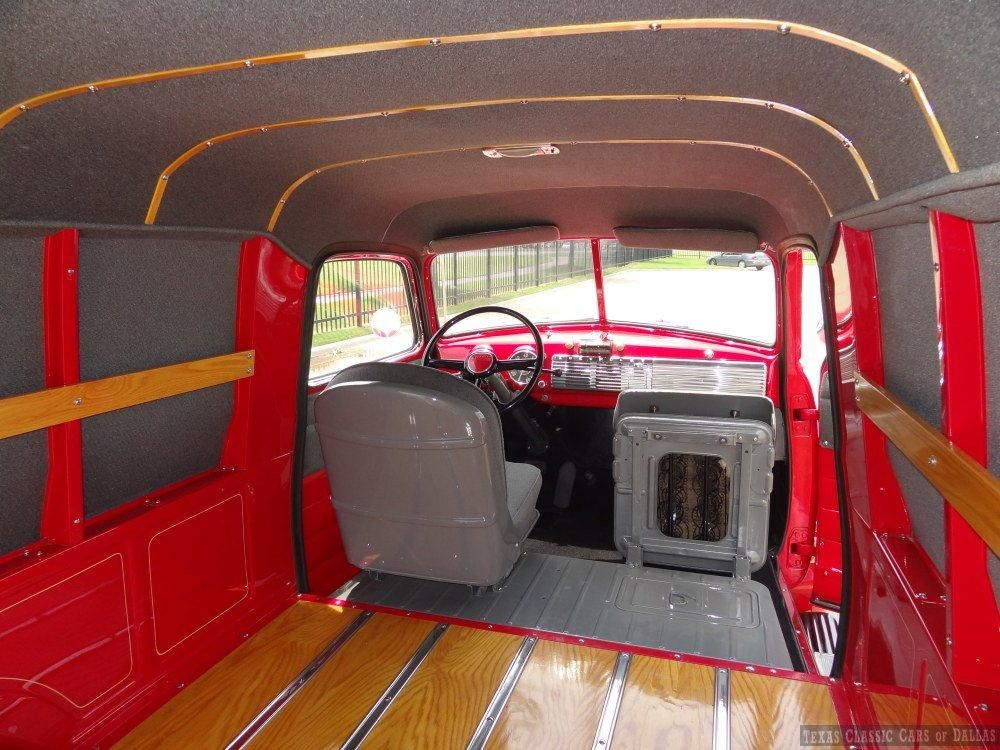 Panel Trucks 1950 1954 Panel Truck Cargo Protection Rail Assembly 1 2 Ton 1947 1955 Chevrolet Truck Interior Panel Truck Custom Car Interior