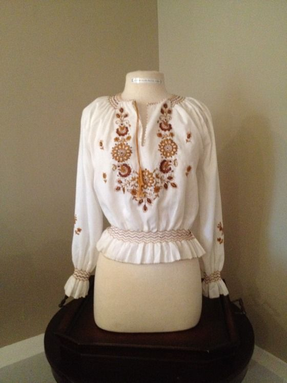 d94c0d482d6211 peasant blouses from the 70's - Google Search | Clothes I Wore/My ...