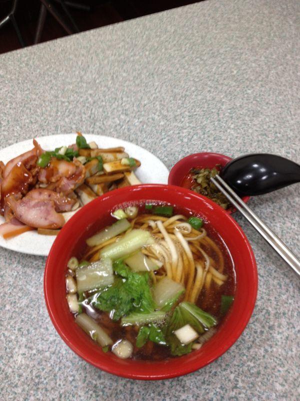 紅燒牛肉麵(Simmer Beef Noodles)
