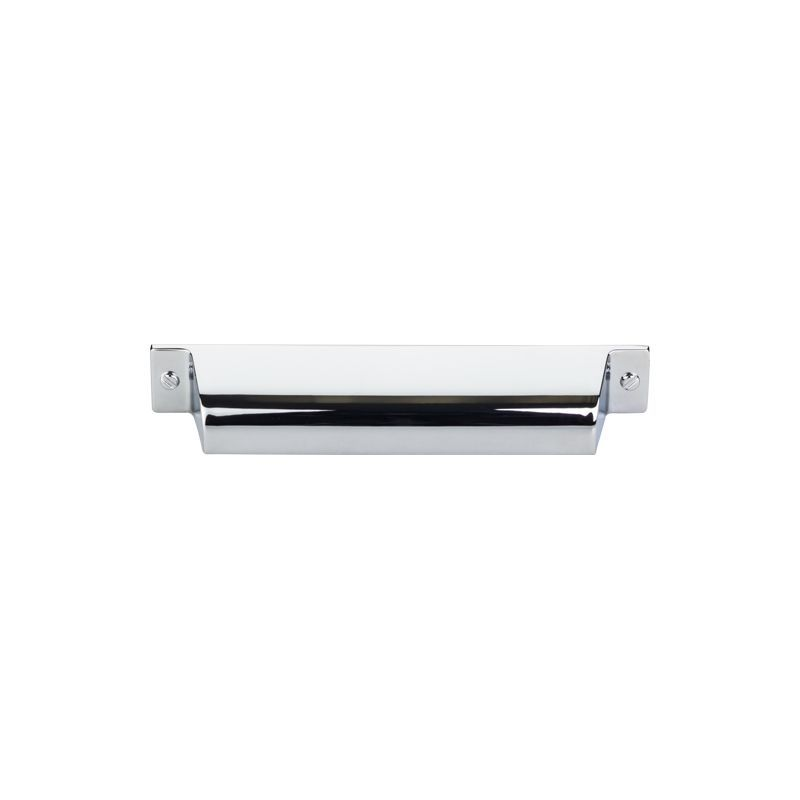 Top Knobs TK774PC Polished Chrome Barrington 5 Inch Center To Center Cup Cabinet  Pull