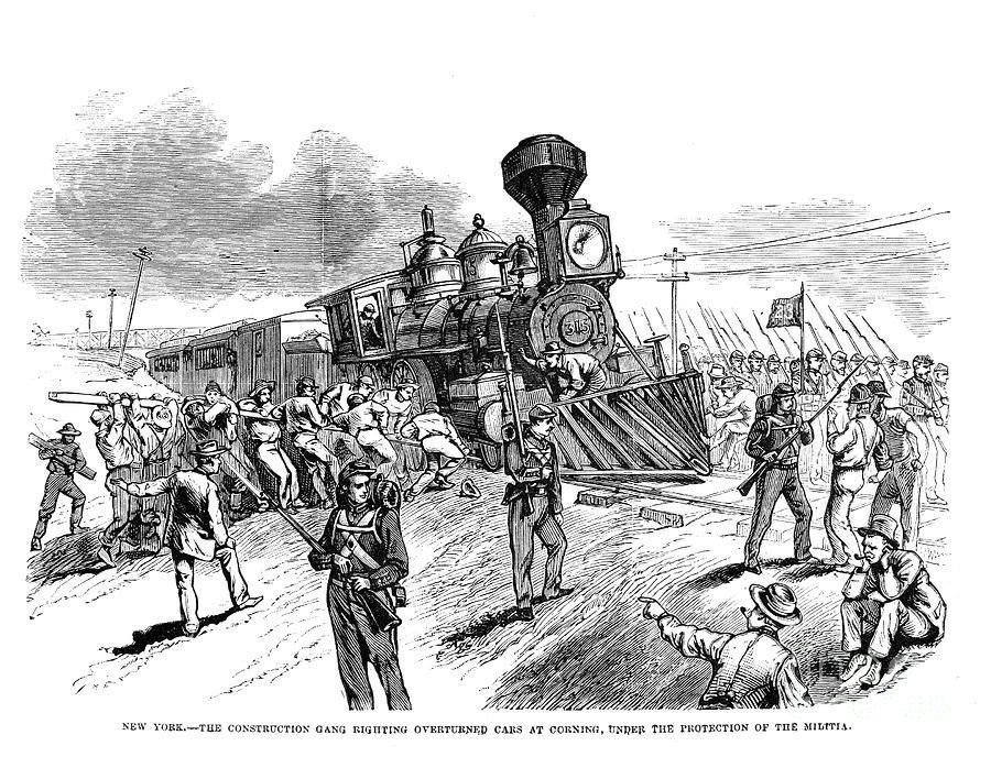 Great Railroad Strike 1877 By Granger Granger Railroad Strike
