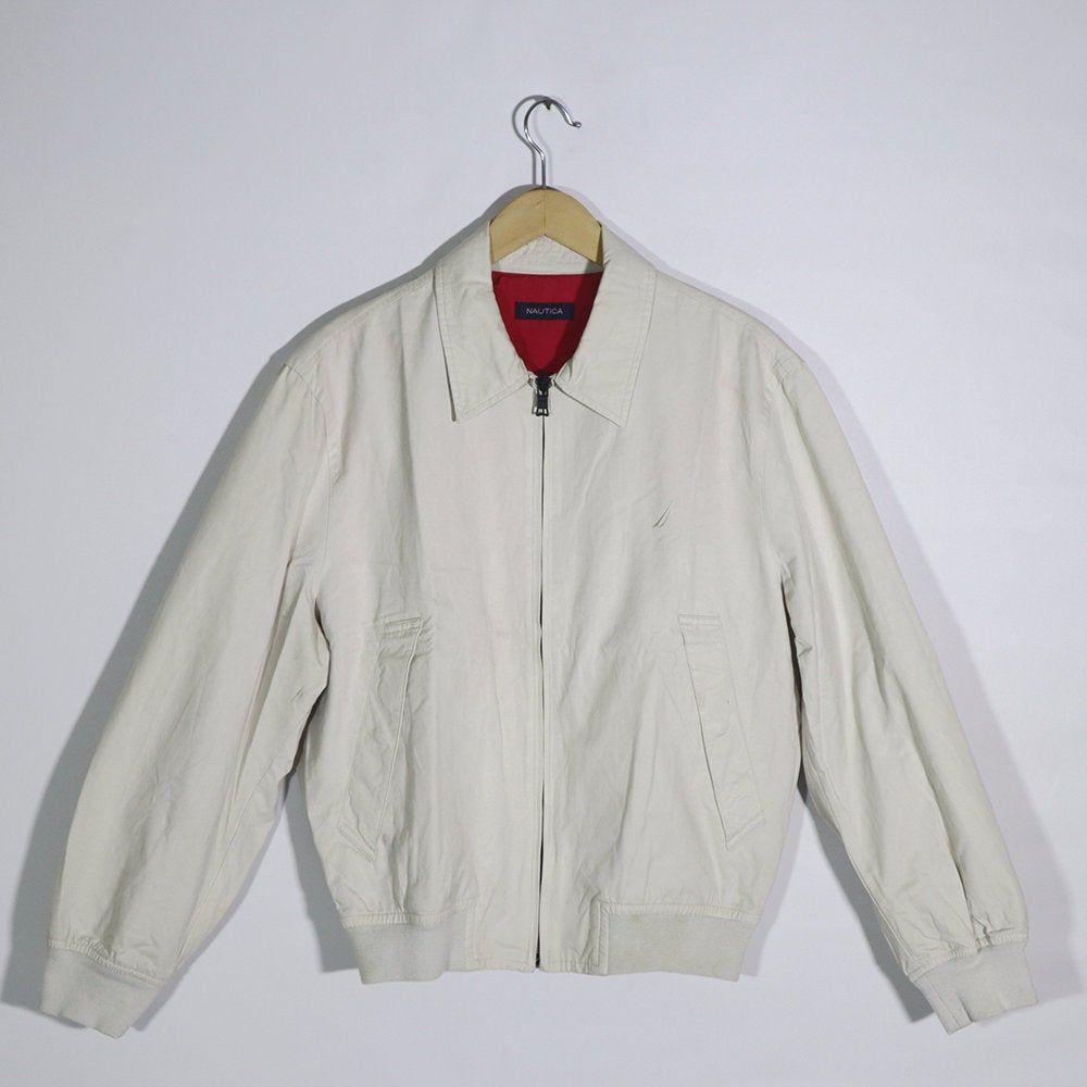 Vintage 90s Nautica Jacket Vintage Nautica Windbreaker Etsy In 2020 Windbreaker Sailor Outfits Jackets