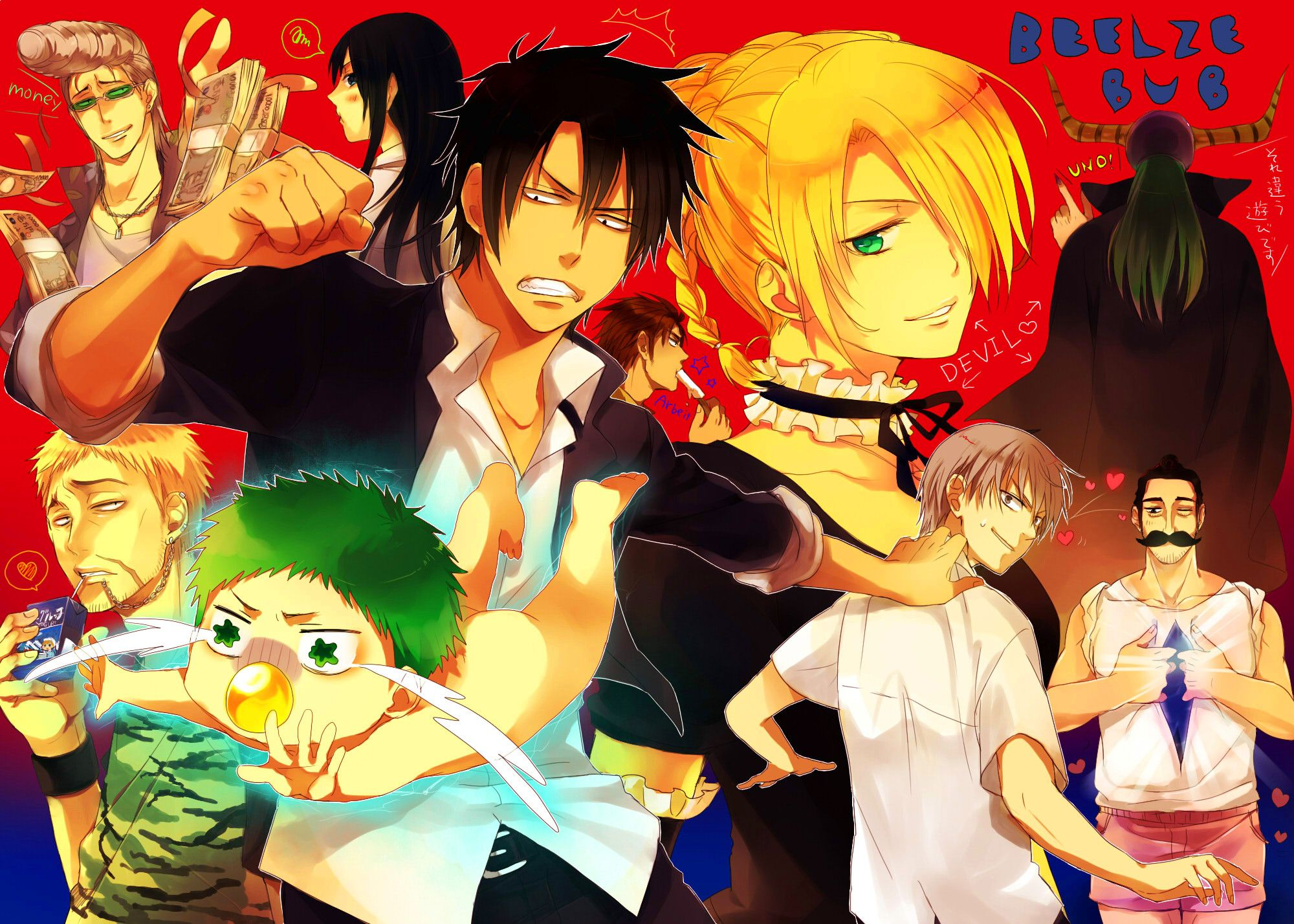 Anime Beelzebub Wallpaper beelzebub Pinterest Anime