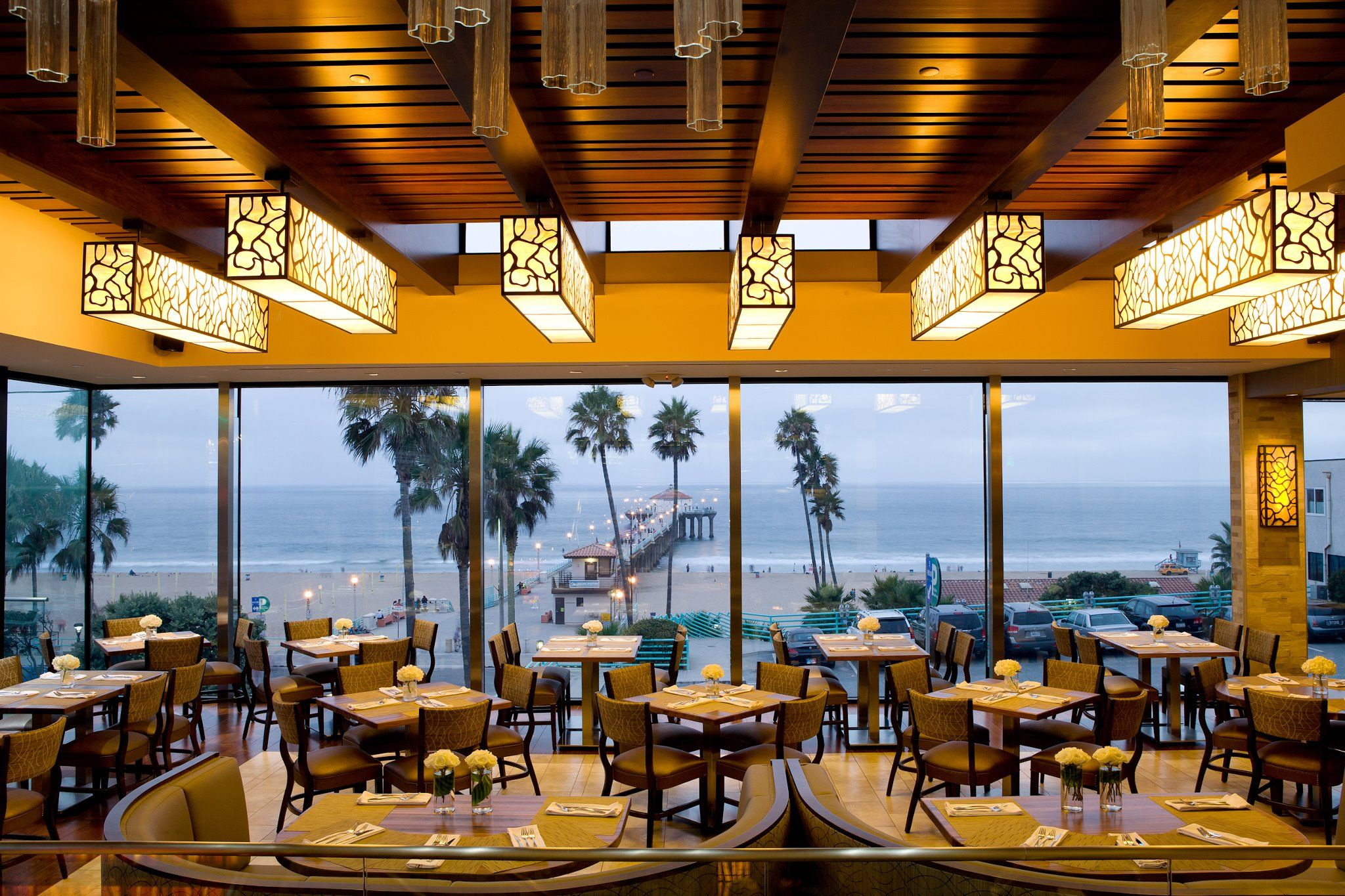 The Strand House Simply Amazing Location Right Above Manhattan Beach Interesting Menu With Great