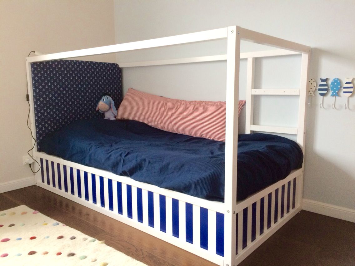 Kura bed, diy headboards and ikea hacks on pinterest