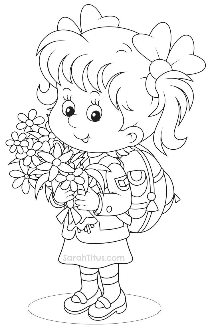 Back to School Coloring Pages | School coloring pages ...