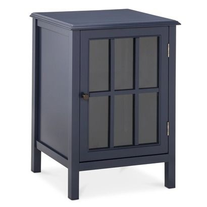 Threshold Windham One Door Accent Cabinet In Navy I Want