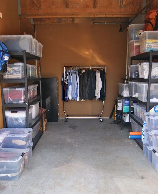 Organized Storage Unit Storage Unit Organization Attic Storage Space Self Storage Units