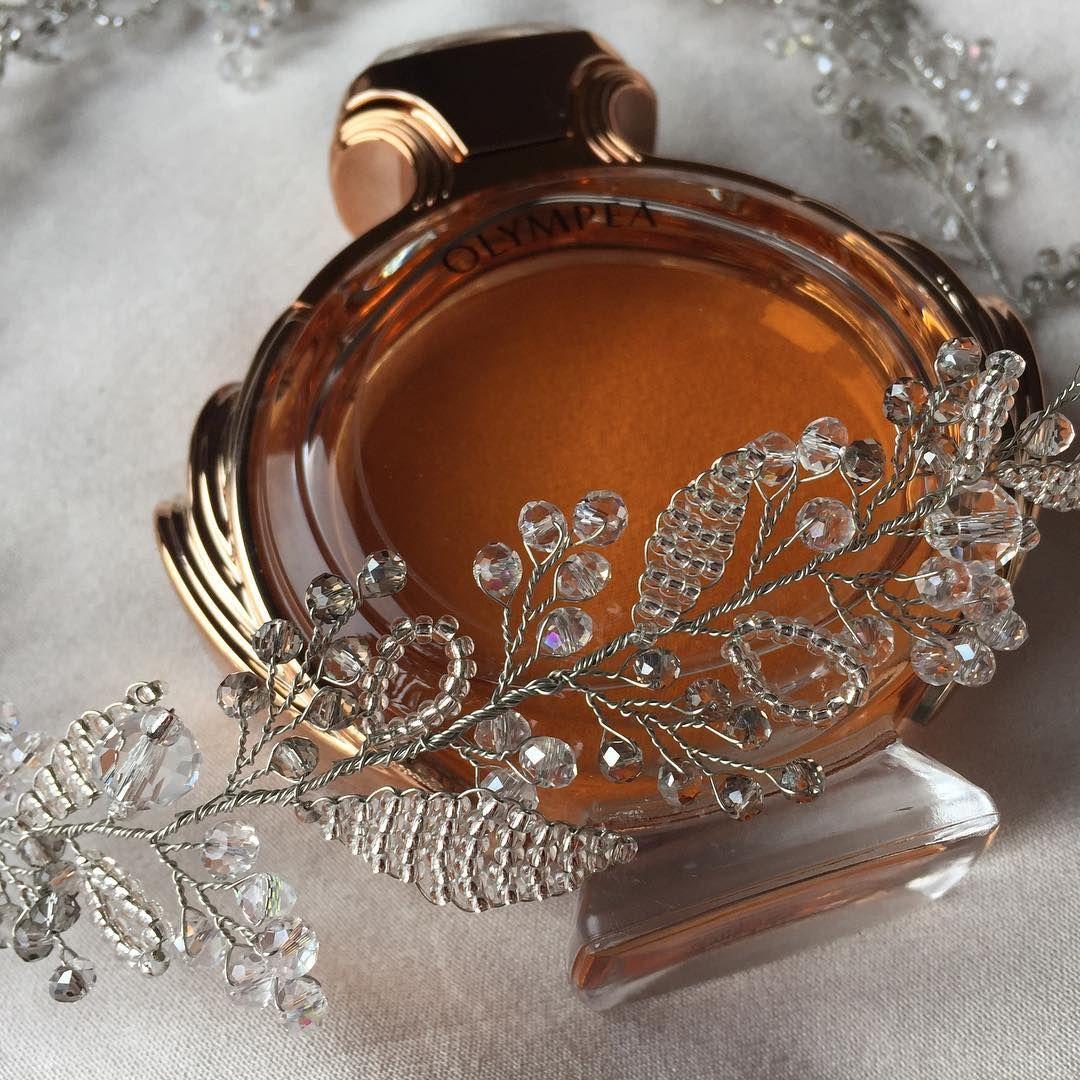 Photo of Details Handmade bridal clasp, Swarovski beads …