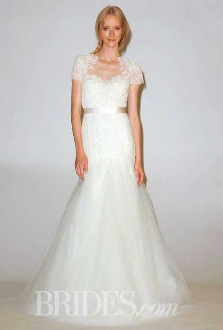 bridescom our favorite lace wedding dresses from the bridal runways style b10817