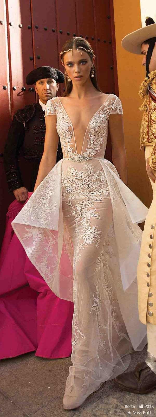 Berta Fall 2018 Wedding Dresses | Hochzeitskleider, Hochzeit ...