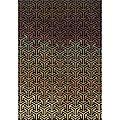Messina Black/Tan Area Rug (5'3 x 7'6) | Overstock.com