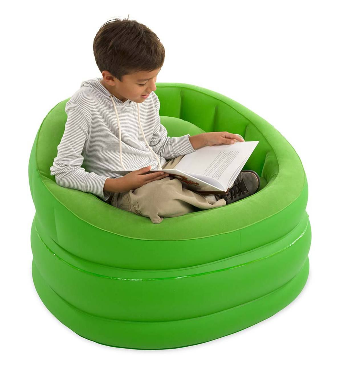 Inflatable Cafe Chair - Green (With images)  Cafe chairs, Chair
