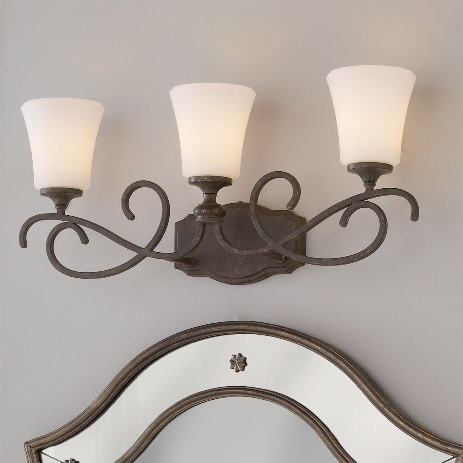 competitive price 2636e 92004 Weathered French Country Bath Light - 3 Light | Master bath ...