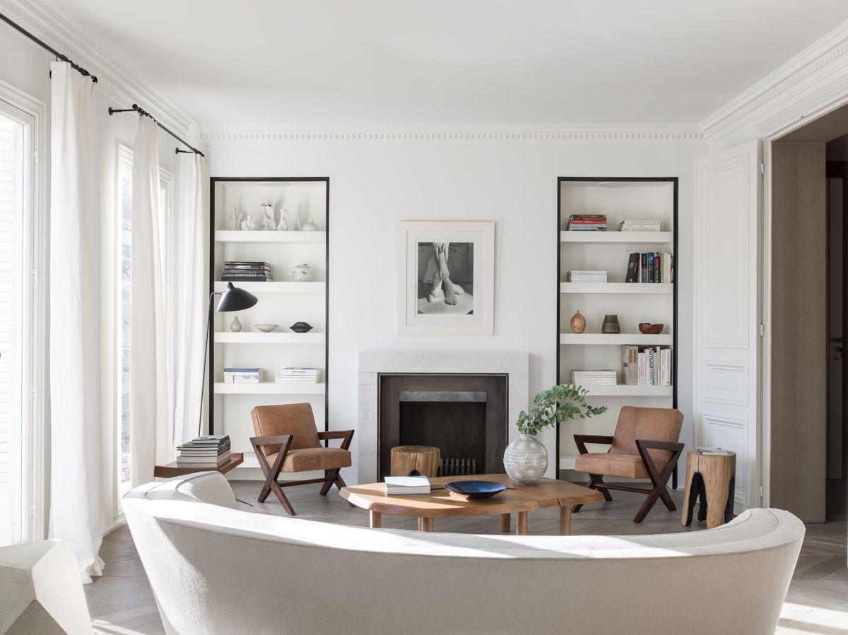 Eclectic living room in a Paris apartment by Nicolas Schuybroek ...