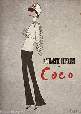 Broadway play based on Coco #Chanel