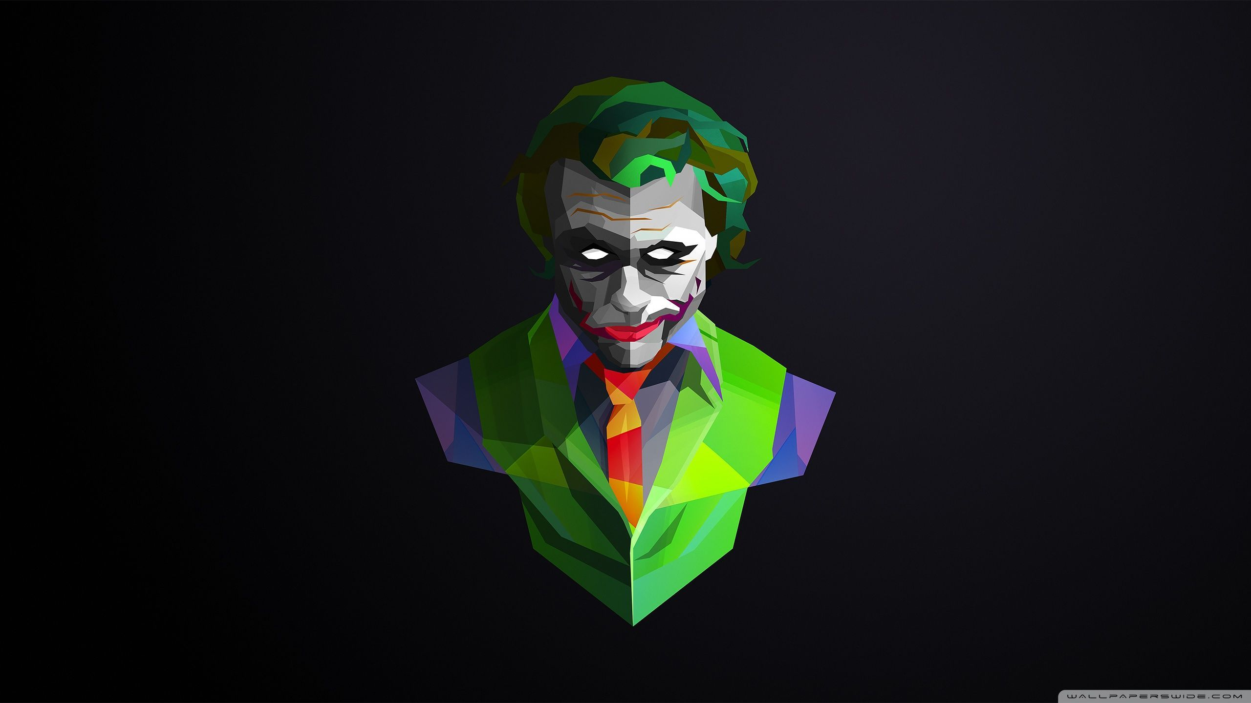 2560x1440 Wallpaperswide Com Joker Hd Wallpapers For 4k Ultra Hd Tv Wide In 2020 Joker Hd Wallpaper Joker Wallpapers Joker Background