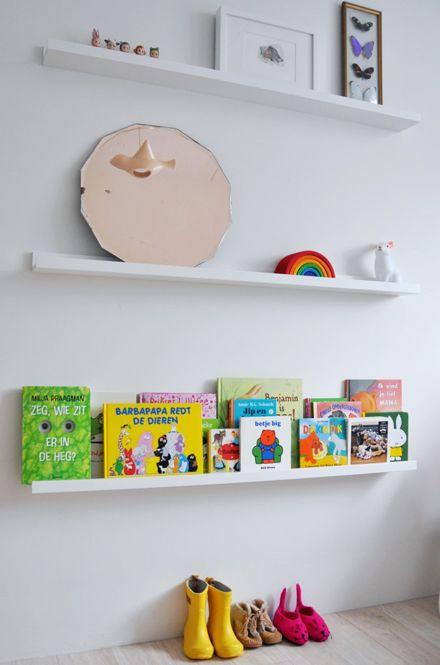ribba from ikea as book shelf projets essayer. Black Bedroom Furniture Sets. Home Design Ideas