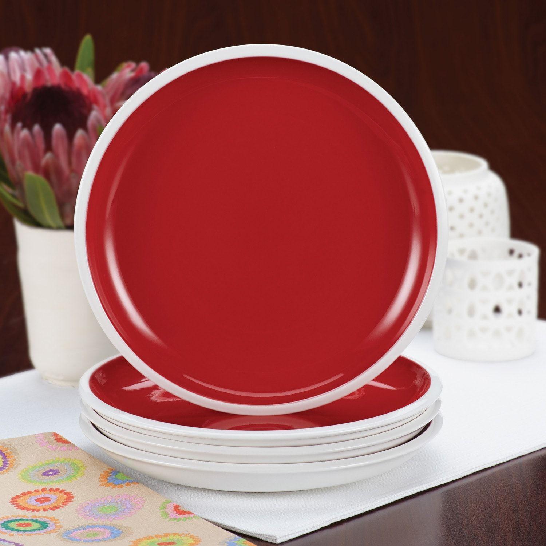 Rachael Ray Rise 4 Pc Salad Plate Set Rise Ray Rachael Pc